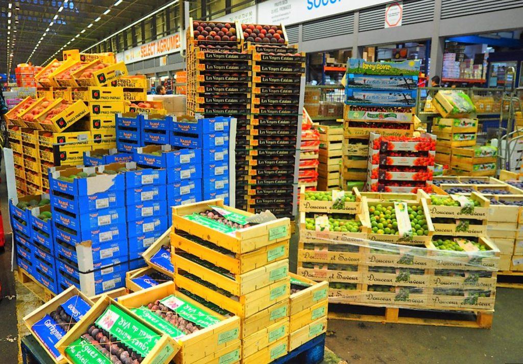 MIN Rungis les fruits et légumes visite